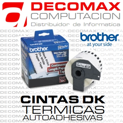 CINTA PRE-CORTADA BROTHER DK1203 300ET 17X87MM BOX