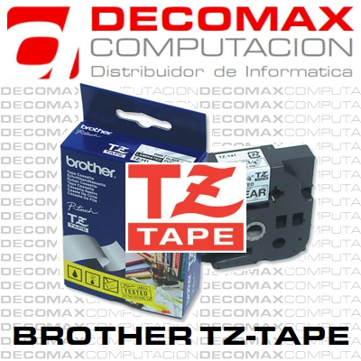 CINTA BROTHER TZ-631 12MM 8M NGR-AMARILLO LAMINADA