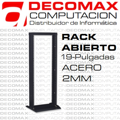 RACK ABIERTO AR-9041 41U 19PULG ACERO-2MM BASE-PIE