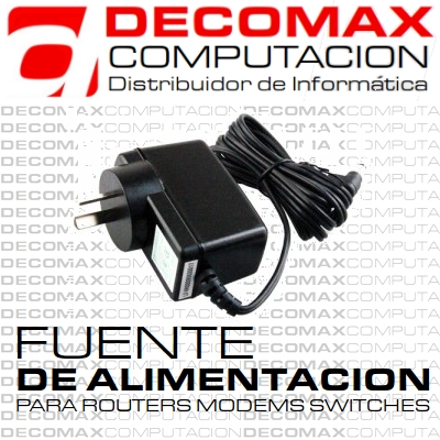 FUENTE ALIMENTACION 9V 1A 220V BROTHER P-TOUCH BOX