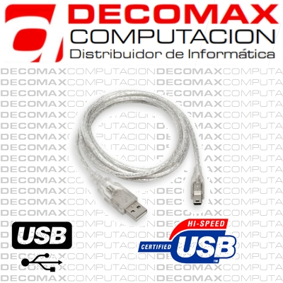 CABLE USB 2.0 MALLADO PARA IMPRESORA AM/BM 3.0 MTS
