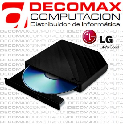 DVD-RW EXTERNA LG GP50NB40 SLIM PORTABLE USB BKBOX