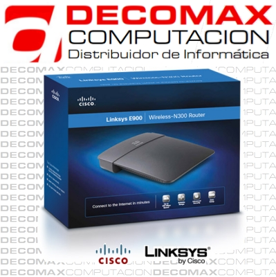 ROUTER LINKSYS CISCO E900 WIRELESS-N300 2.4G 4PBOX