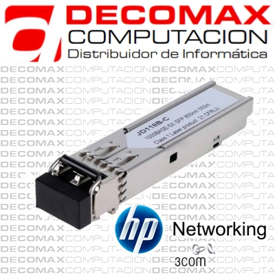 TRANSCEIVER HP JD118B X120 1G SFP LC SX 1000BSEBOX