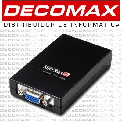 VIDEO EXTERNO USB ENCORE ENMUV-2 DVI VGA 1080P BOX