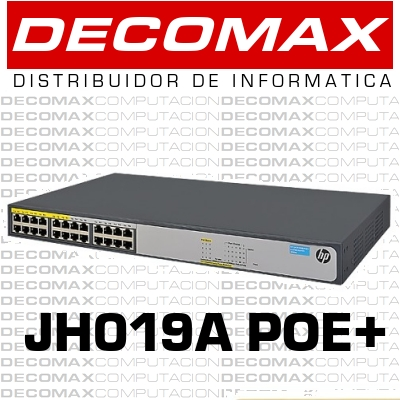 SWITCH HP 1420-24G-POE JH019A 24P GIGABIT 124W BOX