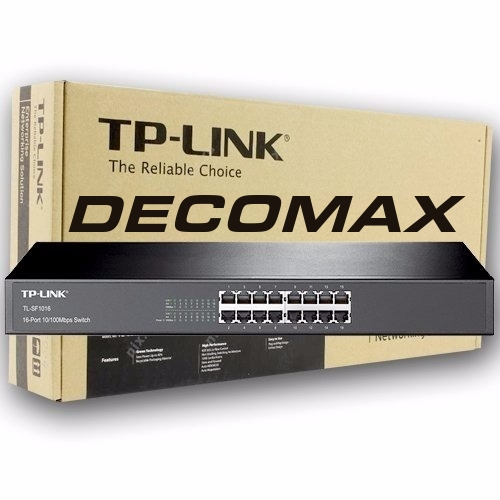 SWITCH TP-LINK TL-SF1016 16-PORT 10/100M RACKEABLE