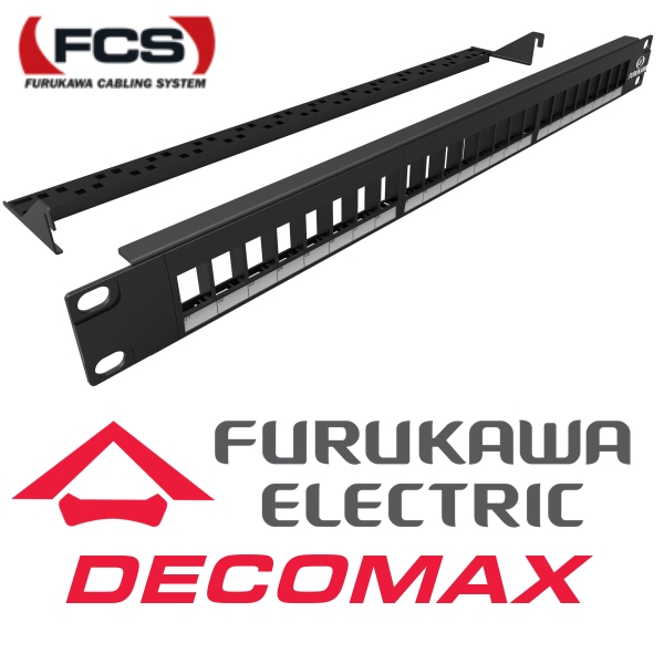 PATCH PANEL DESCARGADO FURUKAWA 24-POS MODULAR BOX