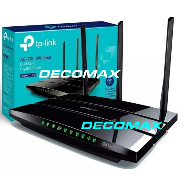 ROUTER TP-LINK ARCHER C1200 DUAL BAND GIGABIT BOX